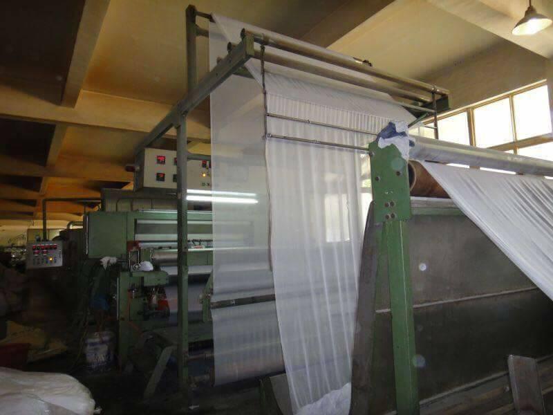 dây chuyền sản xuất keo vải